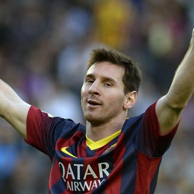 Lionel Messi (18 goals)